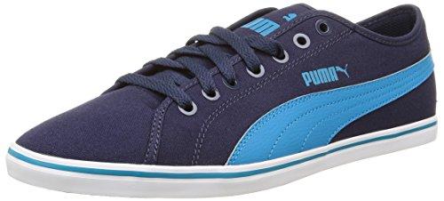 Puma Elsu V2 Cv, Baskets Basses Homme Bleu (Peacoat/Blue Jewel)