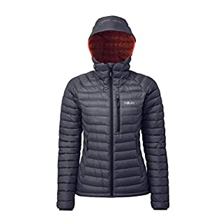 Rab Women's Microlight Alpine Jacket - Steel - 12