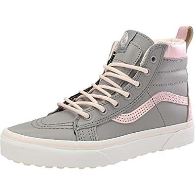 Vans Sk8 Hi MTE Mädchen Sneaker Grau: : Sport