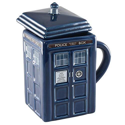 Wesco - Doctor Who Tardis - Taza con tapa