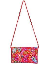 Designer And Trendy Handicraft Jhola Bag Ethnic Design Embroidery Work For Girl/women/Ladies - B077P1YT4B
