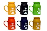 LAXMI COLLECTION (PACK OF 12) FANCY MILK BOTTLE SHAPE MUGS FOR KIDS, RETURN GIFT FOR KIDS BIRTHDAY