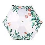 GJYX Ombrello Ombrello da Pioggia Pieghevole per Donna di Piccole Dimensioni Regalo da Uomo per Uomo Mini Tasca per Ombrellone Ombrello da Viaggio Portatile Impermeabile Anti UV