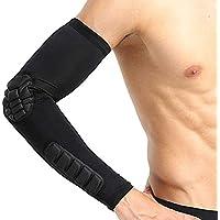 SUPEWOLD Honeycomb Crashproof Shooting Arm Sleeve, Arm Guards, Ellenbogen Unterstützung für Basketball, Fußball... preisvergleich bei billige-tabletten.eu