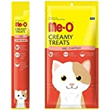 Me-O Creamy Treats (Pack Of 5) With Crab For Cats And Kittens