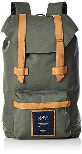 Armani Jeans 9321187p914, Sac à dos Grün (VERDE MILITARE 00084)