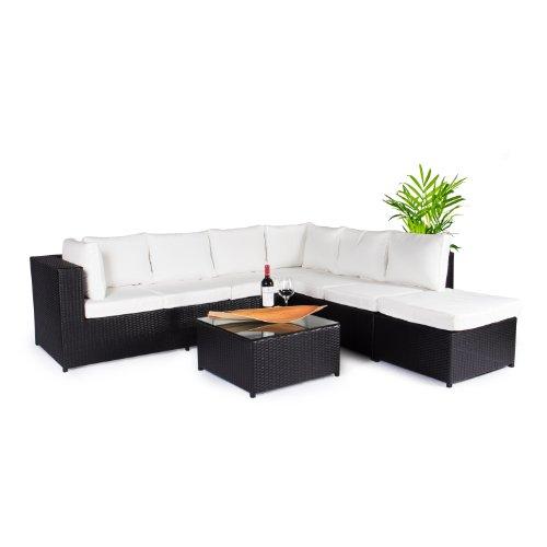 Vanage Rattan Gartenmöbel Set - mehrere Farben verfügbar