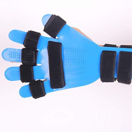 Handorthese mit Fingerschienen und Griffbrett, einstellbare fünfförmige Separator-Klammer-Rehabilitation zur Korrektur von Verwindungen und Deformationen sowie Handgelenkstraining