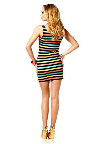 Melrose -  Vestito  - Opaco - Donna Multicolore