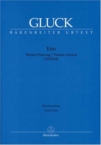 EZIO (DRAME  VERSION DE VIENNE)     CHANT ET PIANO