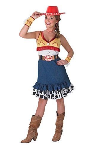 Toy Jessie Kostüm Story Uk (Rubie 's Offizielles Damen Jessie Kostüm Toy Story, Erwachsene)