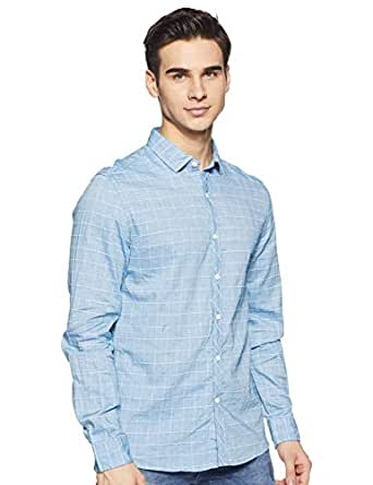 Colt Men's Solid Slim fit Casual Shirt