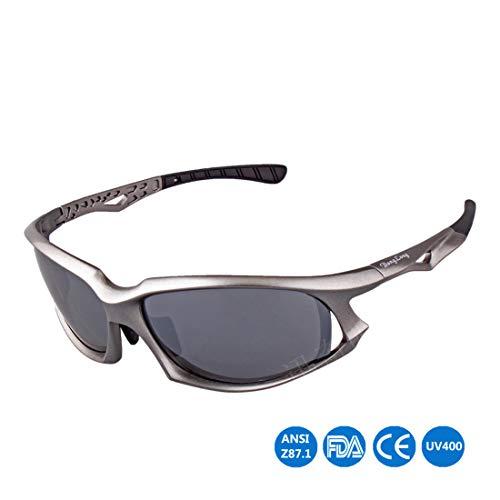 Retro Vintage Sonnenbrille, für Frauen und Männer Unisex-Erwachsenen cool polarisierten Sport Sonnenbrillen fahren Brillen Shades für Männer Frauen Outdoor Radfahren Baseball Laufen Angeln Golf Klette