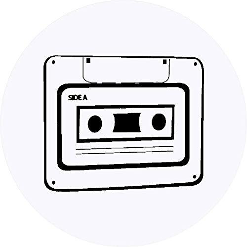 Azeeda 24 x 40mm Redondas 'Cinta de Casete' Pegatinas (SK00001164)