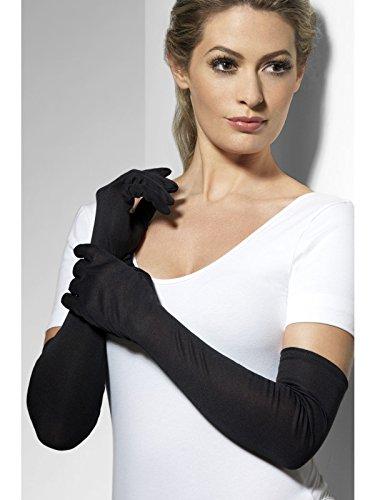 Handschuhe schwarz Handschuhe lange schwarze lang Halloween Kostüm (Schwarze Handschuhe Kostüm)