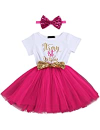 90f76e9de28c Amazon.co.uk  Beige - Dresses   Baby Girls 0-24m  Clothing