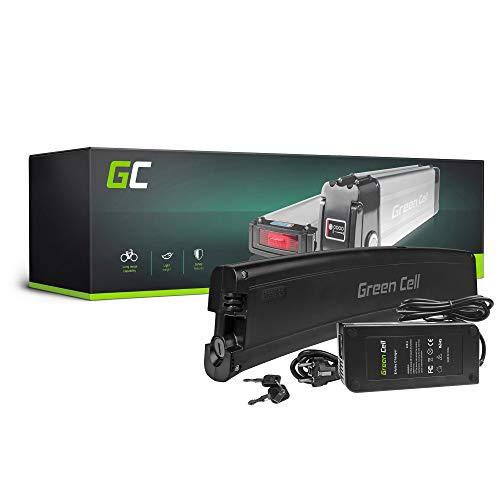 GC® E-Bike Akku 36V 7.8Ah Batterie Pedelec Frame Battery mit Ladegerät und Li-Ion Panasonic Zellen Alpha Swemo Falco Aktivelo Vetelia
