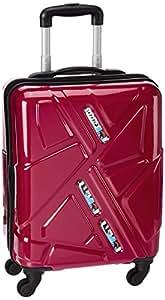 Safari Traffik 55 Cms Red 4 Wheel Trolley