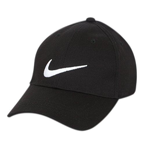 ILU Black Nike caps snapback cap hiphop cap baseball cap black caps for man woman Boys Girls Men Women  available at amazon for Rs.499