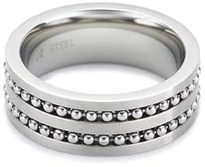 s.Oliver Herren-Ring Edelstahl Gr. 64 355988