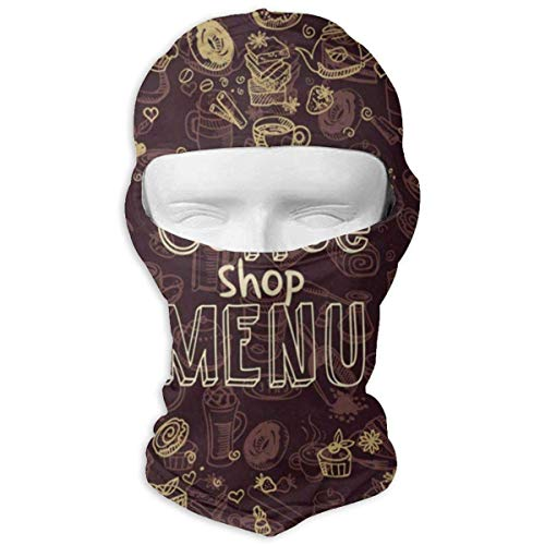 Balaclava Stylish Valentine's Day Theme Full Face Masks UV Protection Ski Sports Cap Motorcycle Neck Warmer Tactical Hood for Cycling Outdoor Sports Mountaineering Women Men Youth New15 - Reversible Neck Warmer