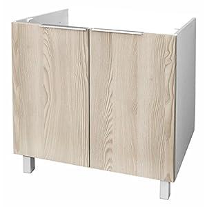 Berlioz Creations CE8BF – Mueble bajo de Cocina para Debajo del Fregadero (80 x 52 x 83 cm)