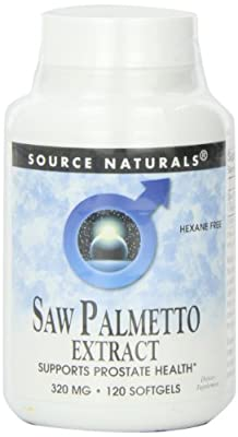 Source Naturals Saw Palmetto Extract, 120 Softgel, 320 Mg by Source Naturals