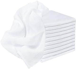 NatureMark Mulltücher 100% Baumwolle, 70x70cm, weiß,10er Pack (B074WGDG44) | Amazon Products