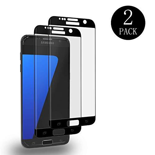 galaxy s7 edge panzerglas aiMaKE 2 Stück Samsung Galaxy S7 Edge Panzerglas, 9H Härtegrad,Perfekt Schutz vor Wasser,Staub,3D Vollständige Abdeckung, Displayschutzfolie Schutzfolie für Samsung Galaxy S7 Edge