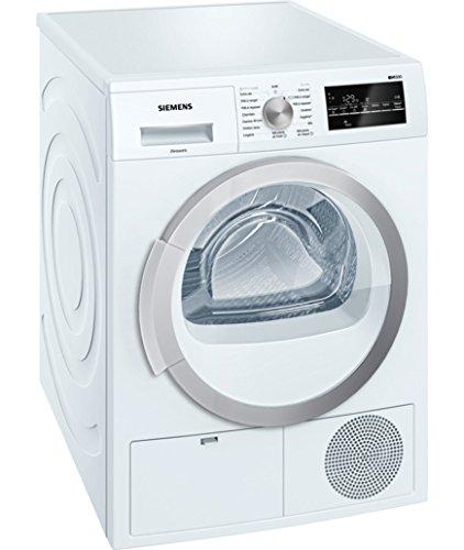Siemens WT46G401FF Autonome Charge avant 8kg B Blanc sèche-linge - Sèche-linge (Autonome, Charge avant, Condensation, Blanc, Rotatif, Tactil, Droite)
