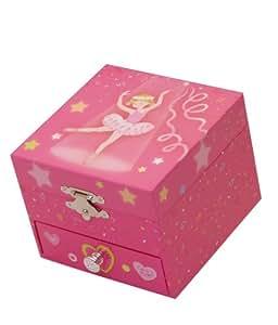 "Music Box World Ballerina Jewellery Box Plays the Melody ""Swan Lake"""