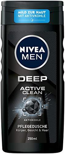 NIVEA Men Pflegedusche Deep Active, 250 ml