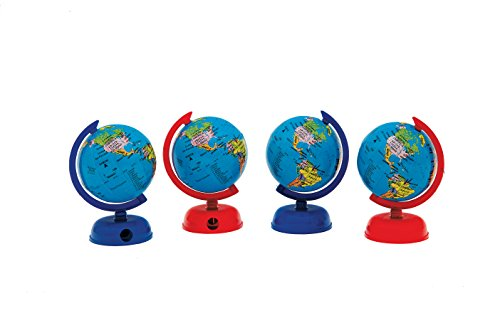 "Globe with sharpener Gift Set - Globus 202S - 2"" Globe (4 pc set)"