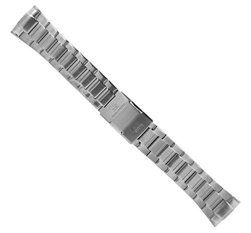 Casio Ersatzband   Uhrenarmband Edelstahl Band Silberfarben für Wave Ceptor WVA-620DE