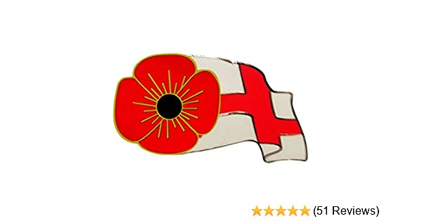 Red flower wales flag pin badge badgepinworld mightylinksfo