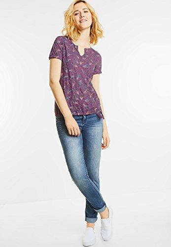 ... Street One Damen Crashshirt mit Tunnelzugsaum sunny violet (lila) ... 6a16ed0ea1