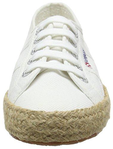 Superga 2750 Cotropew, Sneakers basses mixte adulte Blanc (Blanc)