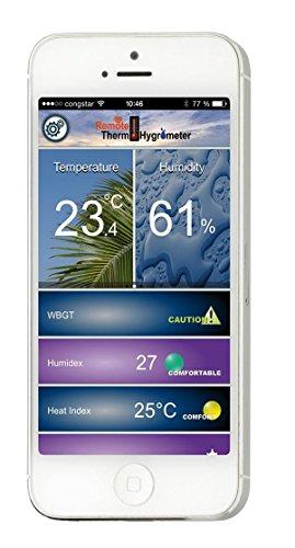 TFA 30.5034.02 Dostmann DOMINO Thermo-Hygrometer mit Bluetooth - 2