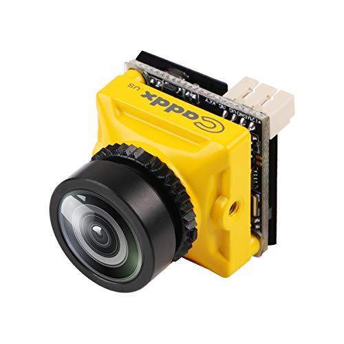 Hankermall Mini FPV Kamera Caddx Turbo Micro S2 4: 3 600TVL Turbo Auge 1,8mm Objektiv PAL CCD Sensor Fliegen OSD DC 5-40V für FPV Quadcopter Racing Drone Dynamic Range Ccd