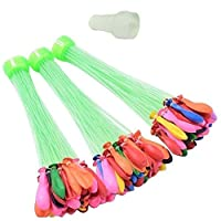 100 Pieces Water Balloon Bunch with quick fill tool