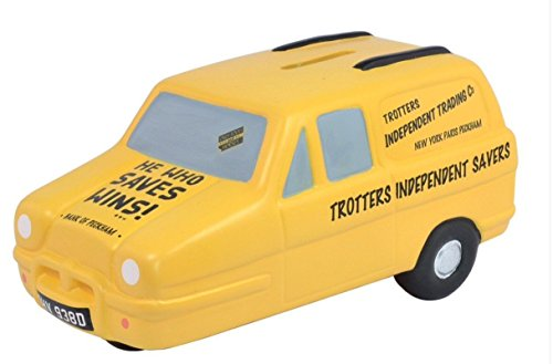 Trotters Independent Trading Yellow Reliant Money Bank
