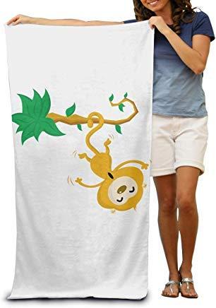 4da68015d73c LOPEZ KENT 100% Cotton Beach Towels 80x130cm Quick Dry Towel for Swimmers  Monkey Beach Blanket