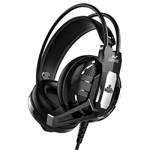 5. Ant Esports H520W Gaming Headset for PC / PS4 / Xbox One, Nintendo Switch, Computer and Mobile, World of Warships Edition- Black