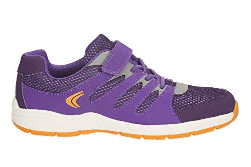 Clarks Croix Dart pour bébés filles Sport chaussure Violet - violet