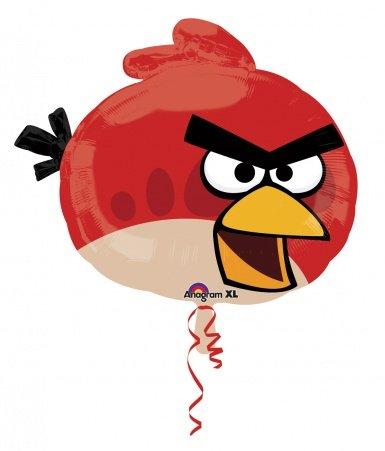 Generique - Angry Birds Aluminium Luftballon (Angry Luftballons Birds)