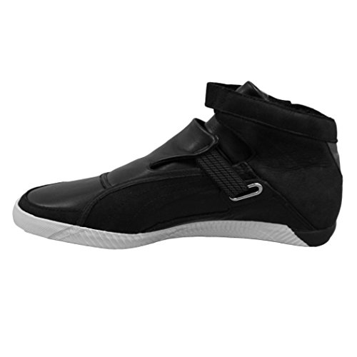 Puma Striscia Roaring Cat Mid Top Motorsport Lifestyle Shoes  8 UK  Black White