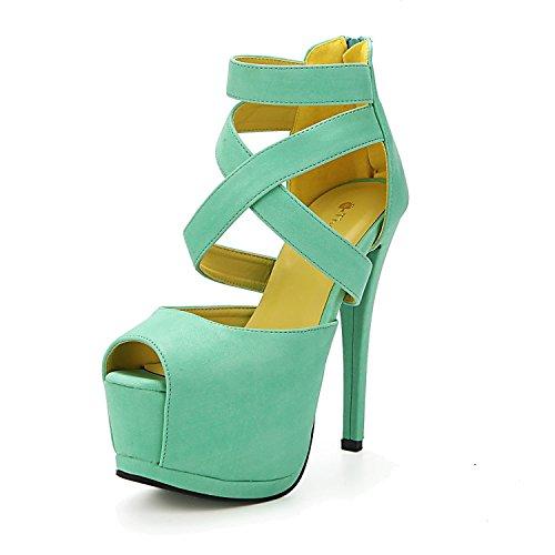 Minetom Femmes Strappy Sandales Chaussons Club De Parti De Mariage Escarpins Disco Evening Shoes