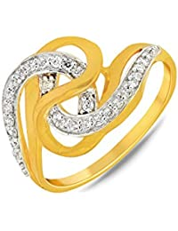 P.N.Gadgil Jewellers Lavanya Collection 22k (916) Yellow Gold Ring - B01M7PC6HM