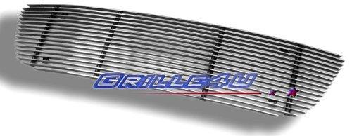 APS F65713A Polished Aluminum Billet Grille Bolt Over for select Ford F-150 Models by APS