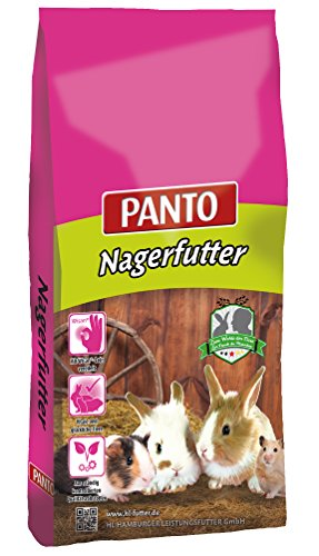 Panto Nagerfutter Universal mit Wisan-Lein, 1er Pack (1 x 25 kg)